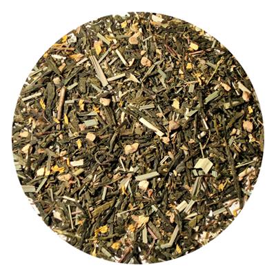 Picture of Πράσινο Τσάι Λεμόνι Τζίντζερ 100 γρ